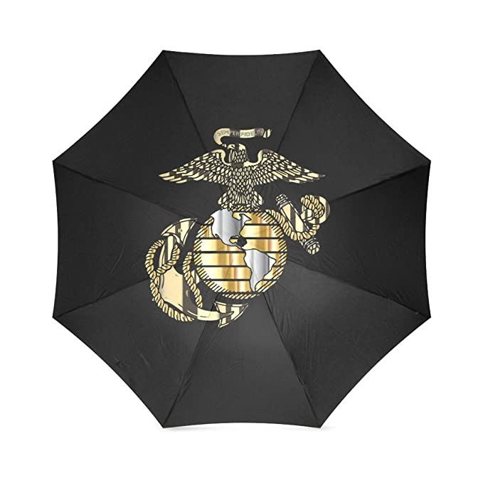 USMC United States Marine Corps Marines Semper Fi Foldable Sun/Rain Umbrella Sunshade Parasol