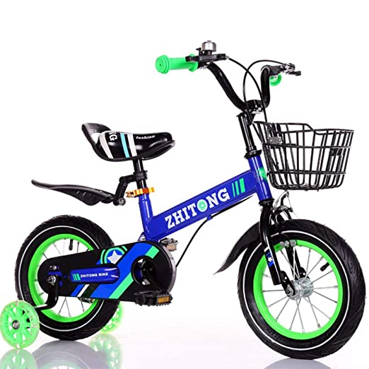 Hokaime Bicicleta para niños Bicicleta para niños Ultraligera con ...