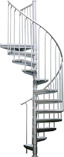 Eje Escaleras Arizona para exteriores con peldaños de rejilla, 12 steigungen: Amazon.es: Bricolaje y herramientas