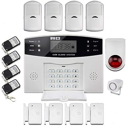 Outstanding Discoball Burglar Alarm House Security System Gsm Auto Dial Home Wiring Cloud Inamadienstapotheekhoekschewaardnl