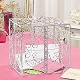 White Gift Box Card Holder Wedding Bridal Wishing Well Money