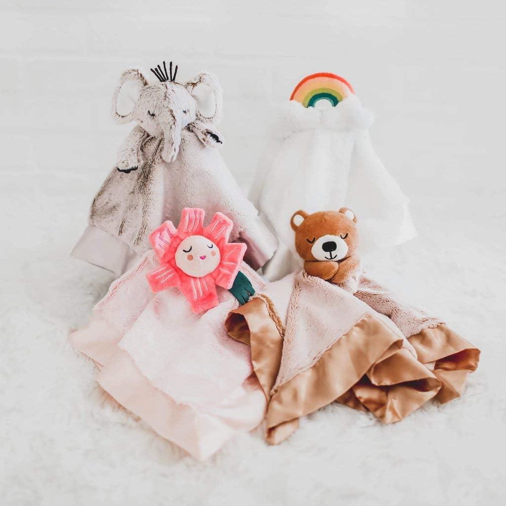 Lucy Darling Security Blanket Fuzzy Blanket Baby Blanket Little Rainbow