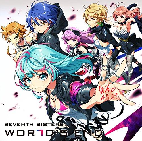 amazon world s end cd 通常盤 セブンスシスターズ アニメ 音楽