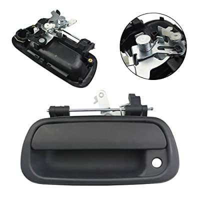 FOLCONROAD Pickup Rear Exterior Textured Black Tailgate Door Handle 69090-0C010 for 2000-2006 Toyota Tundra[US Warehouse]: Automotive