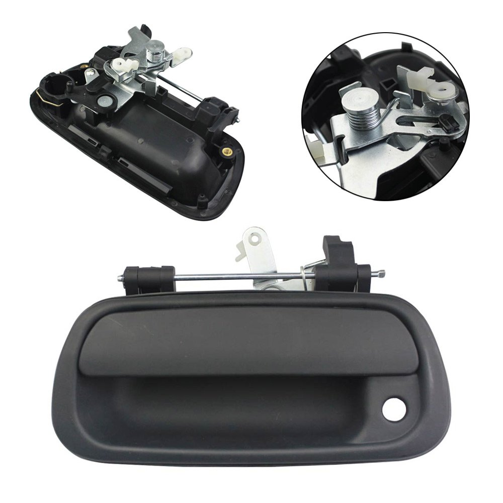 FOLCONROAD Pickup Rear Exterior Textured Black Tailgate Door Handle 69090-0C010 for 2000-2006 Toyota Tundra