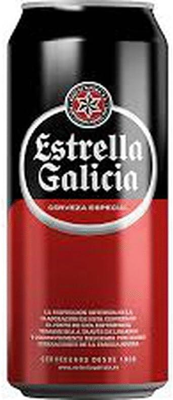 CERVEZA ESTRELLA DE GALICIA ESPECIAL LAGER PACK 24 LATAS 33CL: Amazon.es: Alimentación y bebidas