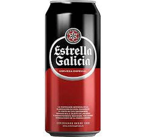 Estrella De Galicia Cerveza - Paquete de 24 x 500 ml - Total: 12000 ml: Amazon.es: Alimentación y bebidas