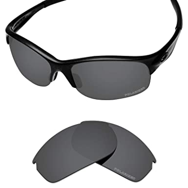 c79091b99d5 Tintart Performance Lenses Compatible with Oakley Commit SQ Polarized  Etched-Carbon Black