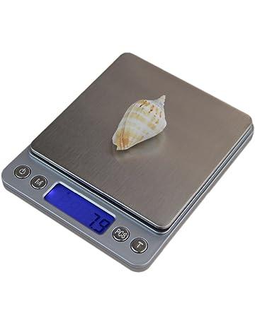 SODIAL 3000g/0.1g Mini bascula Digital Electronica portatil Caja de Bolsillo Bascula Digital de