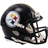 Riddell RIDDMINIPITSP NFL Pittsburgh Steelers Revolution Speed Mini Helmet