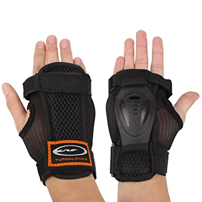 Andux Gants ski Extended rouleau poignet Palms protection Patinage dur Gantelets réglable Skateboard Gantelets soutien HXHW-03