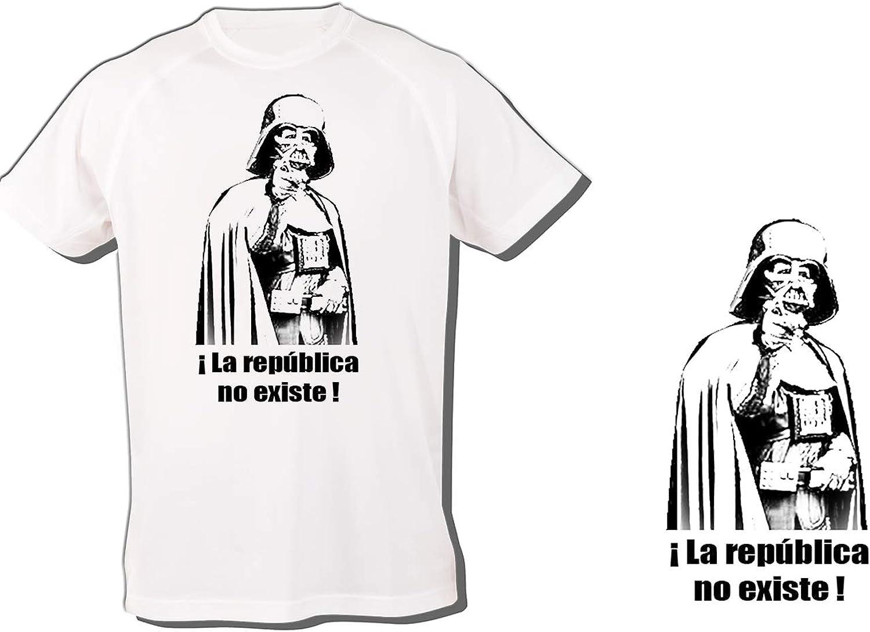 MERCHANDMANIA Camiseta A3 LA Republica NO Existe ESPAÑA Tshirt: Amazon.es: Ropa y accesorios