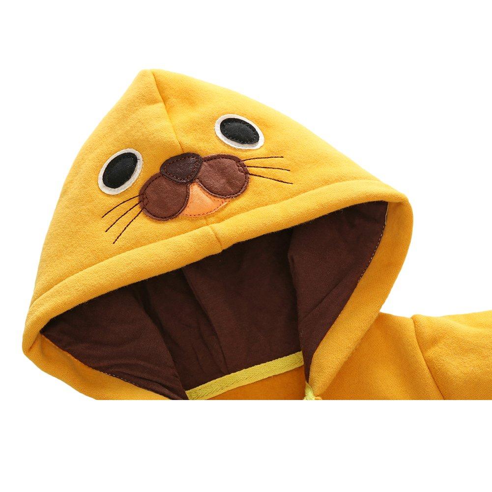 Baby Strampler Baumwoll Overall M/ädchen Jungen Schlafanzug Pyjamas Unisex Kleinkind Outfits Kleidung Set Tiger//Ente//Pinguin 0-12 Monate