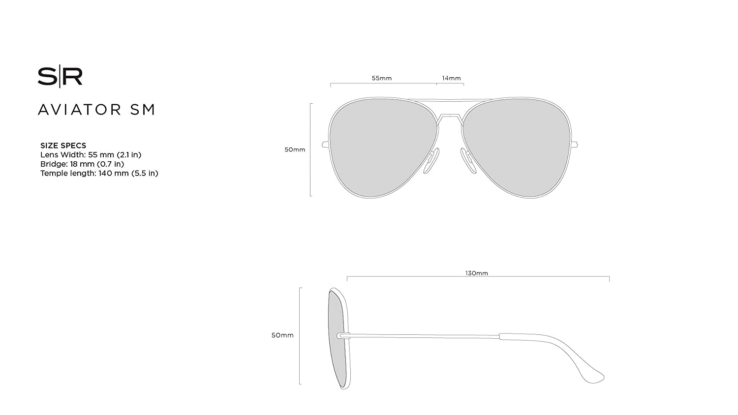 Shady Rays Aviator Elite Polarized Sunglasses