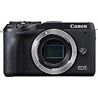 Canon EOS M6 MARK II BODY, Fotoğraf Makinesi, Siyah