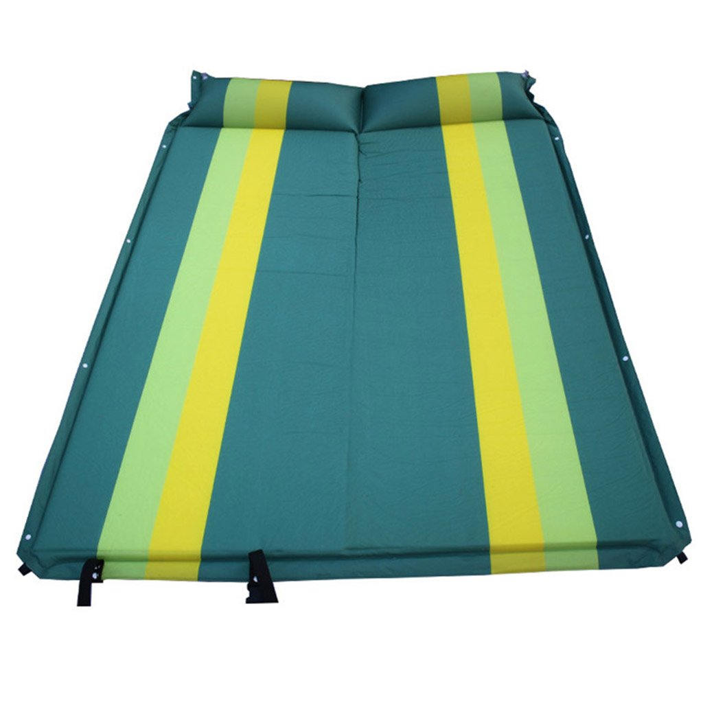 ZWL SUV Auto aufblasbare Bett, im Freien automatische aufblasbare Multifunktionsaufblasbare Auflage-Stamm-Reise-Bett-Auto-Bett-Schlafenauflage-Fußboden-Matratze 192  132  3cm Fashion.z