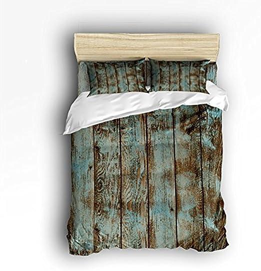 Amazon.com: Vandarllin King Size Bedding Set  Decorative Rustic