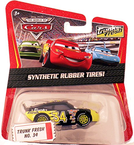 Disney Pixar The World of Cars Exclusive 1:55 Trunk Fresh No. 34