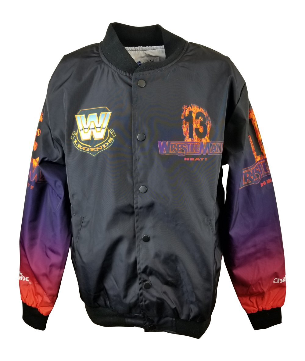 Chalk Line Stone Cold Steve Austin Vs Bret Hart Wrestlemania 13 WWE Fanimation Chalkline Jacket -L by Chalk Line