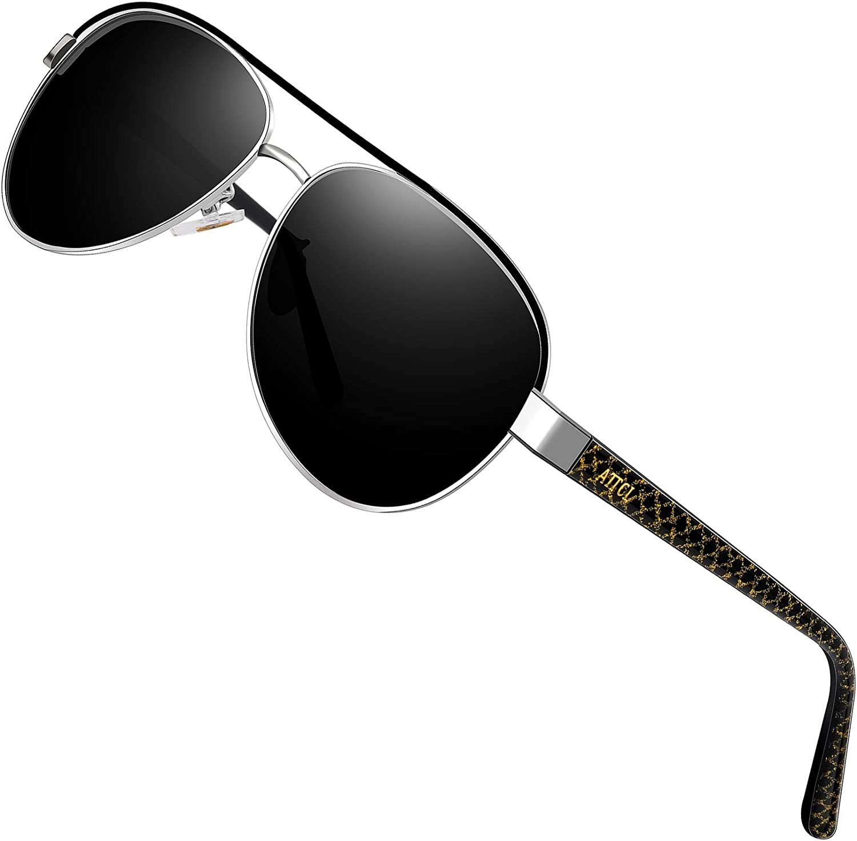 ATTCL sunglasses - Lunettes de soleil - Homme M Noir