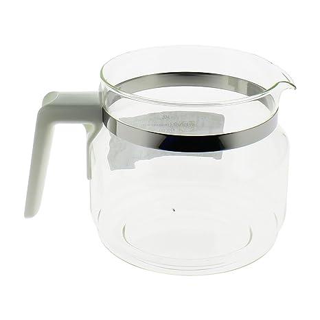 Jarra Color Blanca sin tapa para cafetera: Amazon.es: Grandes ...