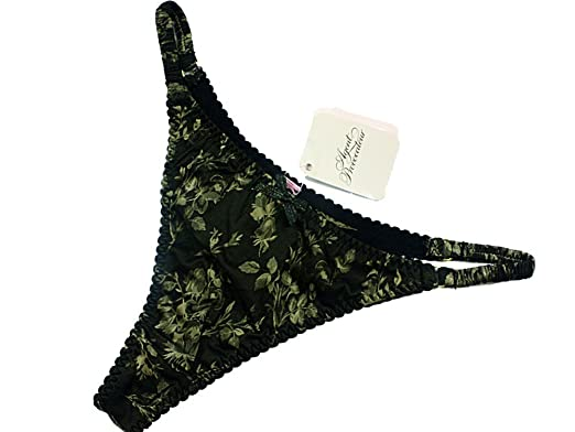 Agent Provocateur Black Leoni Lace Sexy Thong Size 2 c1fdb10b6