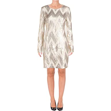 a04b22e5 Vince Camuto Womens Sequined Mini Bodycon Dress at Amazon Women's Clothing  store: