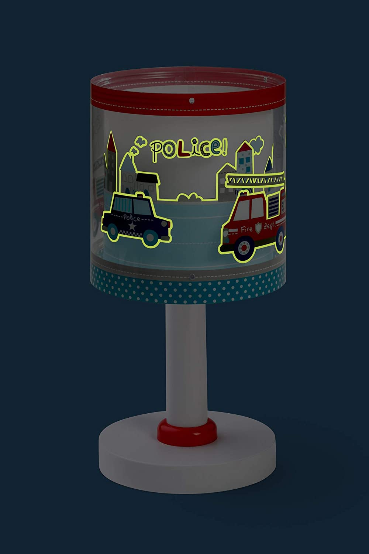 Dalber Police lampada da comodino 60611