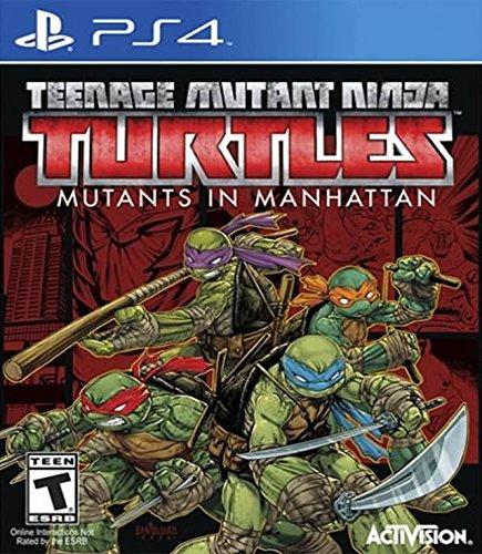 Teenage Mutant Ninja Turtles: Mutants in Manhattan - PlayStation 4 -