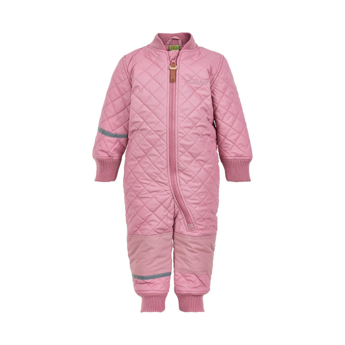 Thermal PU Quilted Windproof Suit - Boy Girl Unisex - Fleece Lining Age 9-24 Months Rose by CeLaVi