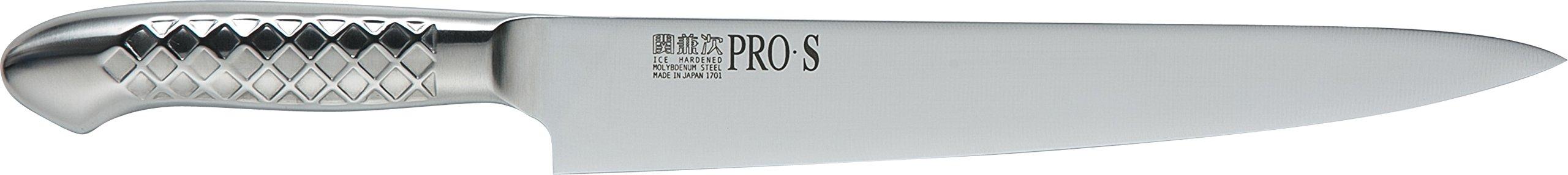 関兼次 Seki Kenji Hamono Japanese Knife Kitchen Knife PRO Molybdenum Steel Stainless Steel Made in Japan (Muscle Pull Knife 240mm, PRO · S)