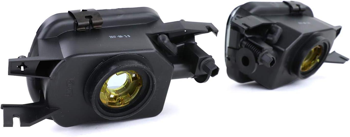 Tenzo R 37446 Klarglas Nebelscheinwerfer Hb4 Schwarz Smoke Auto