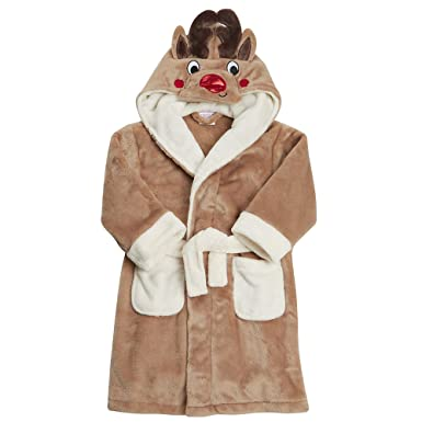 Bata de baño para niños palo de golf para niños ropa de descanso para niñas albornoz con capucha muy suave de forro polar Coral: Amazon.es: Ropa y ...