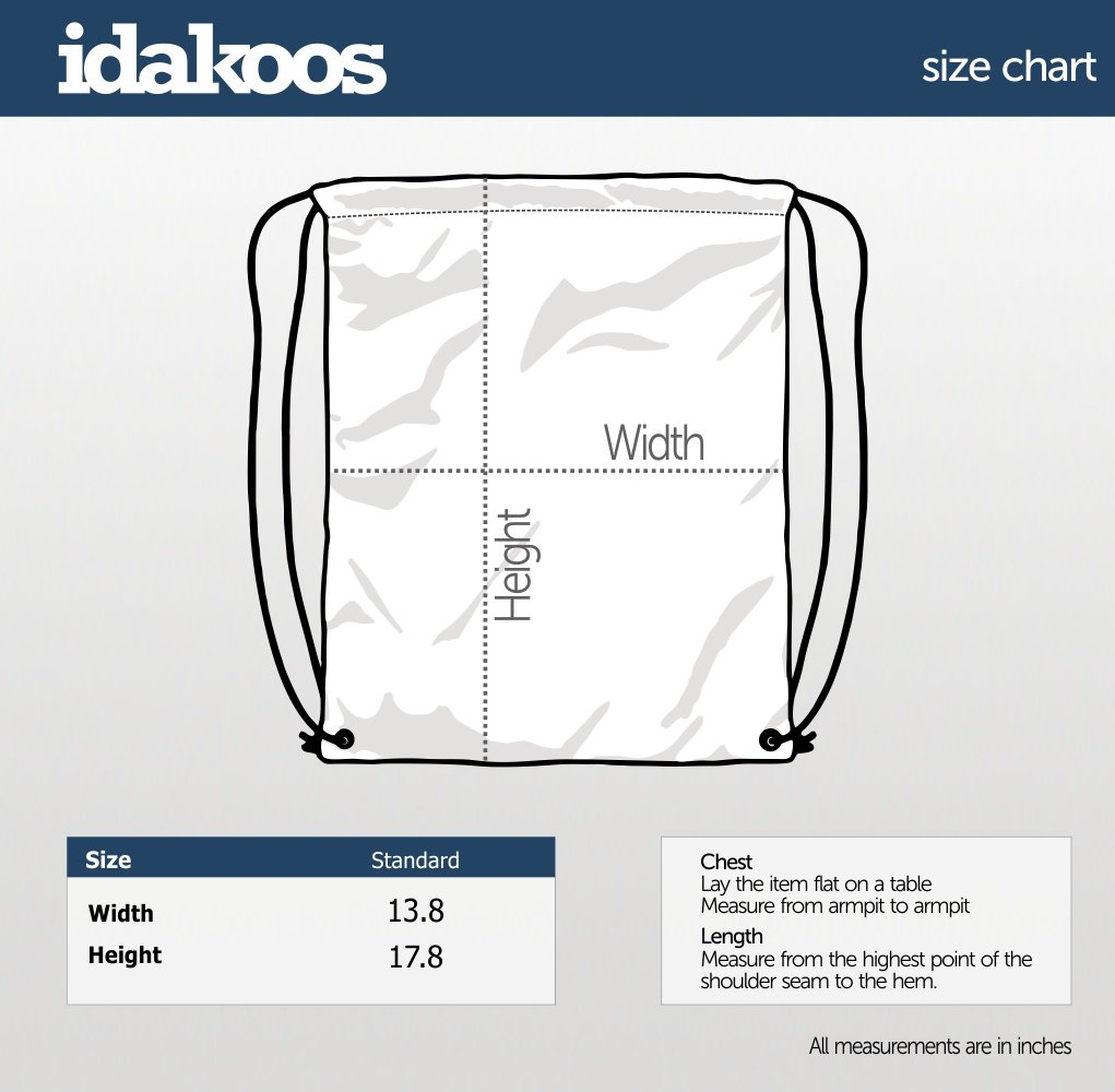 Idakoos Keep Calm and Play Tuba Silhouette Sac /À Cordon Instruments De Musique