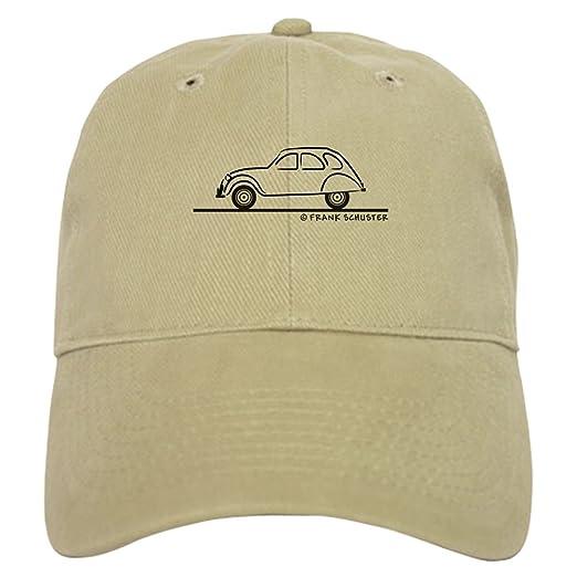 CafePress - Citroen 2CV Cap - Baseball Cap with Adjustable Closure 2d45bec1b646