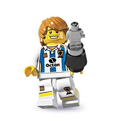 LEGO Series 4 Collectible Minifigure Soccer Player: Toys & Games
