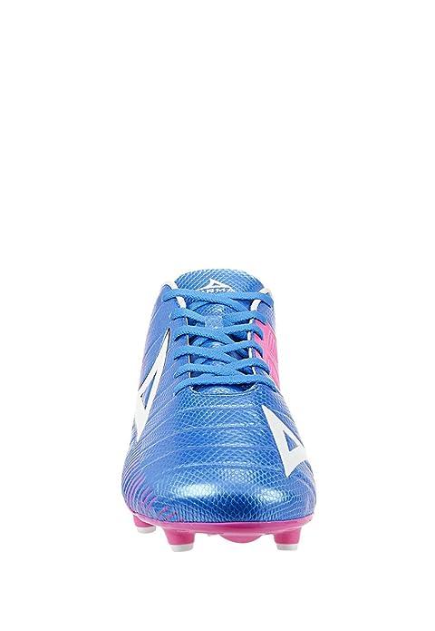 aaa7b8adf81bf Impuls PIRMA Tenis Deportivo Soccer Tenis para Hombre Azul Rosa. Talla  28.5  Amazon.com.mx  Ropa