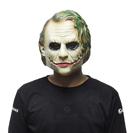 <b>Amazon</b>.com: <b>Joker</b> Masks Batman Clown Full Face Mask Movie <b>Cosplay</b> ...