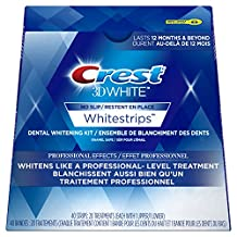Crest 3D White Whitestrips Professional Effects Treatments, 20 Count