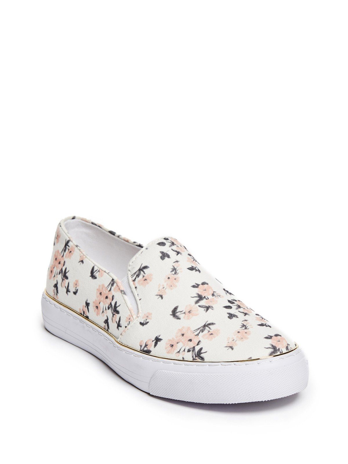 GUESS Factory Women's Gladis Floral Slip-On Sneakers