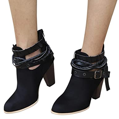 3269750ed818 Image Unavailable. Image not available for. Color  Hemlock High Heel Ankle  Boots Women ...