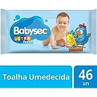 Toalha Umed Babysec Galinha Pint Ultrafresh 92 Unids, Babysec