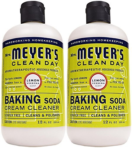- Mrs. Meyer's Clean Day Cream Cleanser - 12 oz - Lemon Verbena - 2 pk
