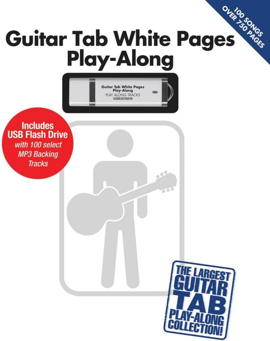 Hal Leonard Guitar Tab blanco páginas Play-Along libro/USB ...