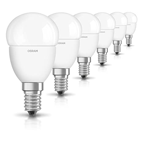 Osram Star Cl P Bombilla LED, E14, 5 Watts, Blanco, Pack de
