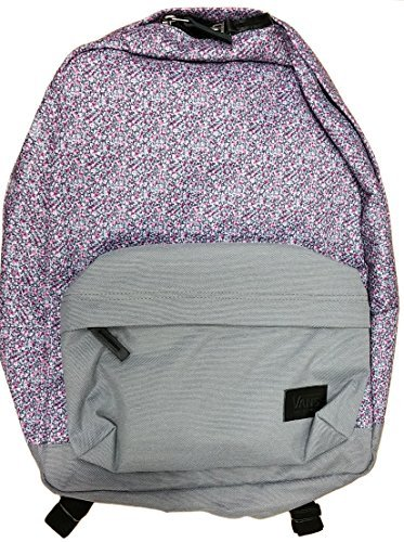 8c5da188c1feb Galleon - Vans Girls Deana III Backpack (Chambray) VN-021MIZW - Burgundy