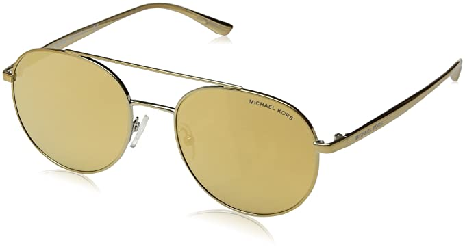 Amazon.com: Michael Kors mk1021 11687p Gold-tone Lon Aviator ...