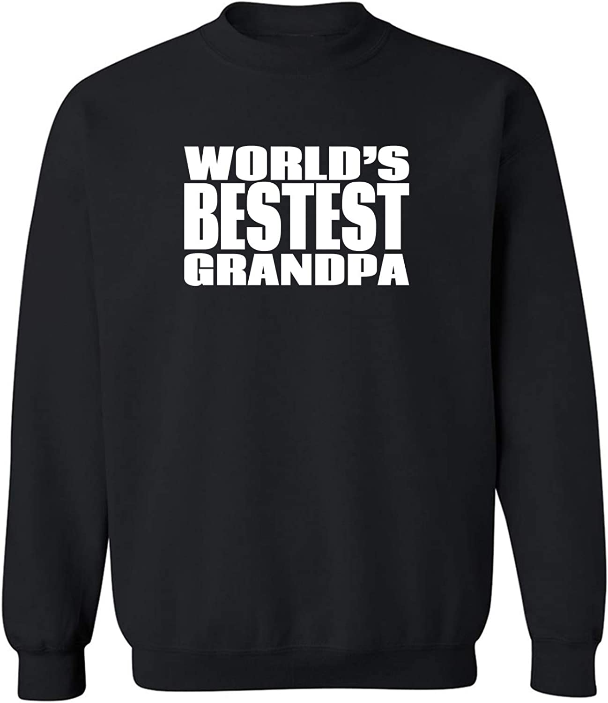 Worlds Bestest Grandpa Crewneck Sweatshirt
