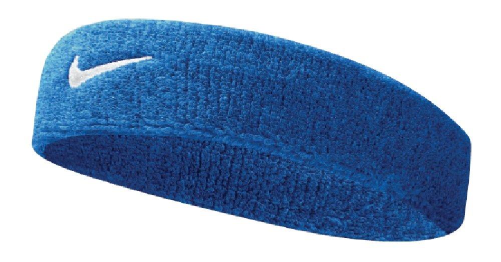 Nike Swoosh Headband (Royal Blue/White, Osfm) by Nike (Image #1)