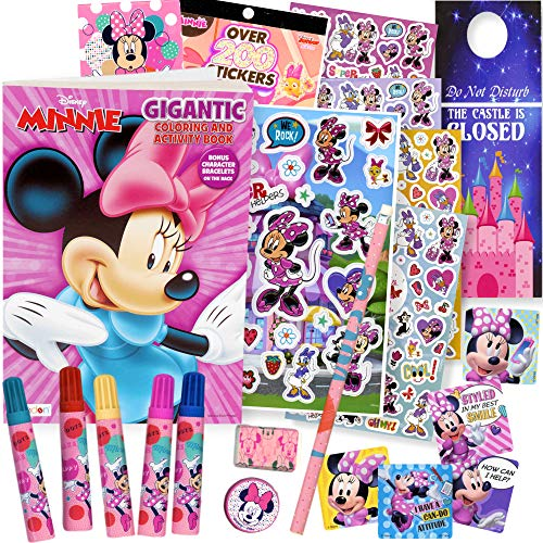 Minnie Mouse Coloring Book with Markers